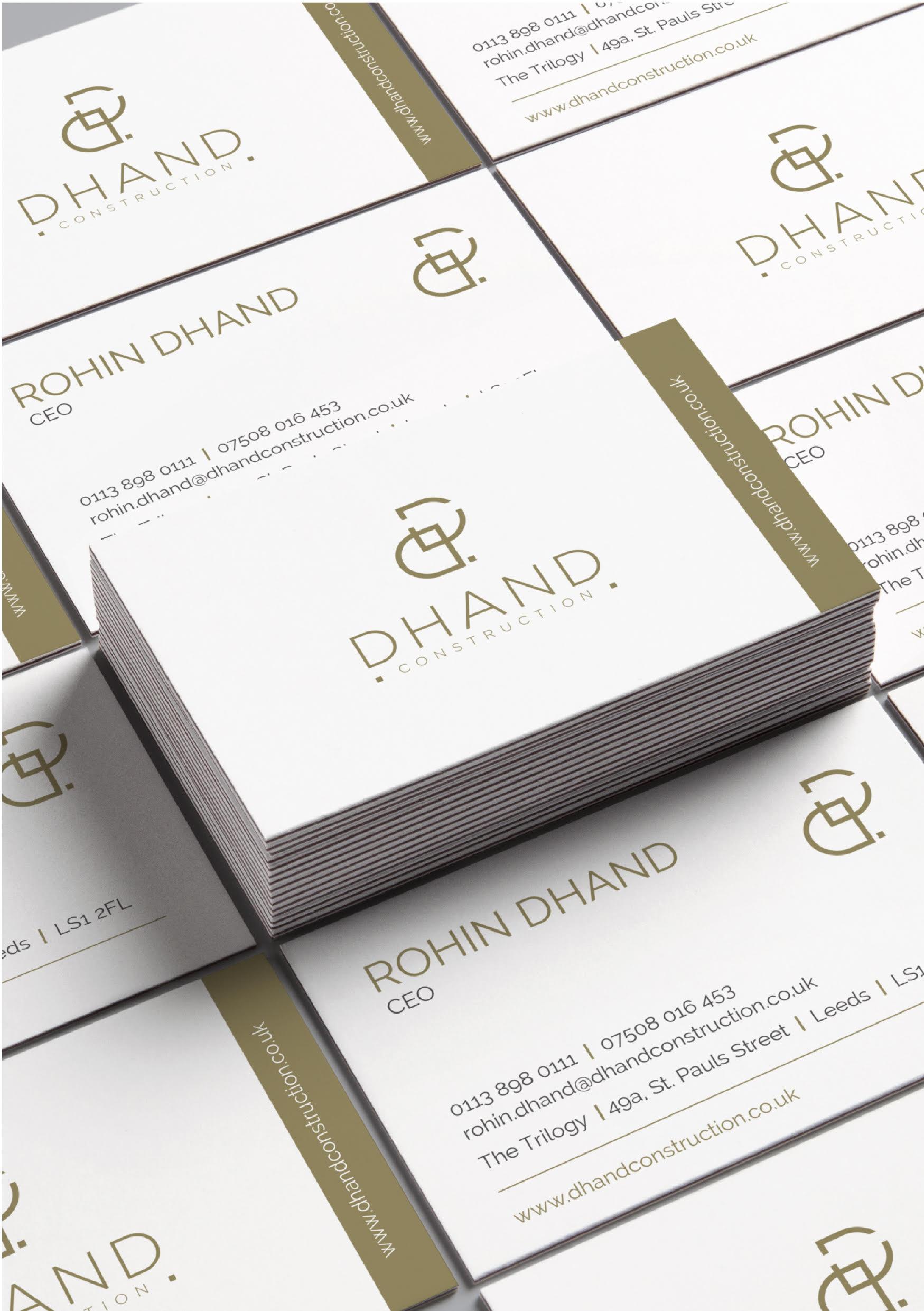 D Hand Calling Card